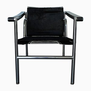 Early LC1 Chair by Le Corbusier, Pierre Jeanneret, and Charlotte Perriand for Cassina, 1960s