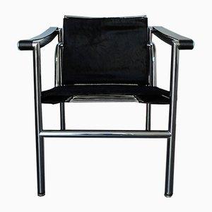Früher LC1 Sessel von Le Corbusier, Pierre Jeanneret & Charlotte Perriand für Cassina, 1960er