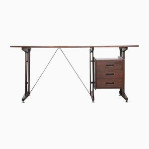 Rosewood Desk by Franco Albini, 1970s
