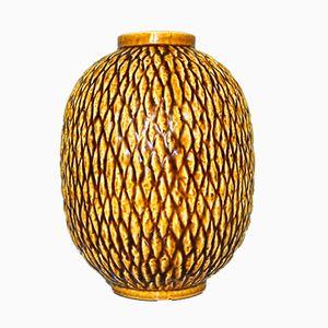 Mid-Century Chamotte Vase von Gunnar Nylund für Rörstrand