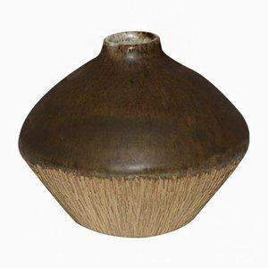 Dänische Keramikvase von Edmund Andersen für EA Gudhjem Keramik, 1950er