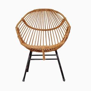 Rattan Chair, 1950s