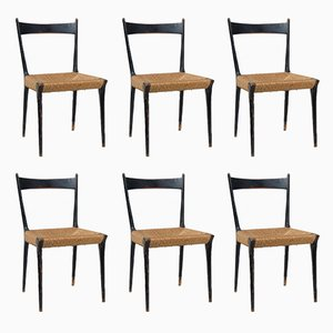 Modernist Dining Chairs by Alfred Hendrickx, 1958, Set of 6