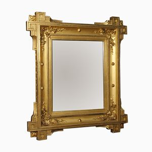 19th Century Golden French Mirror