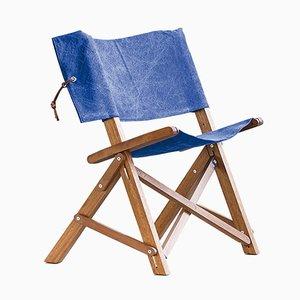 Dino Chair aus Iroko & Baumwolle von Tonuccidesign für Tonucci Manifestodesign