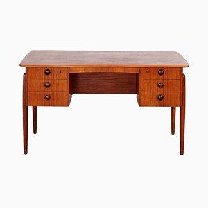 Teak Schreibtisch, 1960er