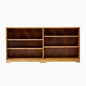 Mid-Century Scandinavian Open Bookcase