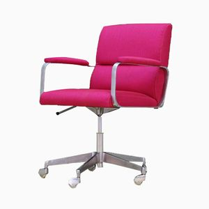 Danish Pink Armchair, 1960s
