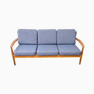 Danish Teak Sofa by Grete Jalk for Cado, 1960s