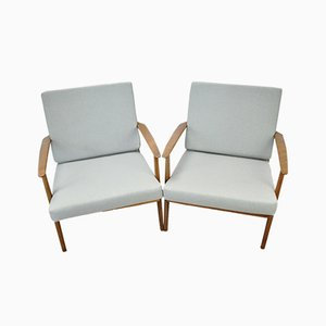 Vintage Scandinavian Armchairs, 1960s, Set of 2