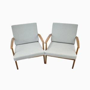 Vintage Scandinavian Armchairs, 1960s, Set of 2