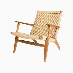 CH25 Sessel von Hans J. Wegner für Carl Hansen & Søn, 1950er