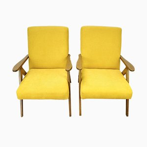 B-310 VAR Armchairs from Radomsko, 1970s, Set 2