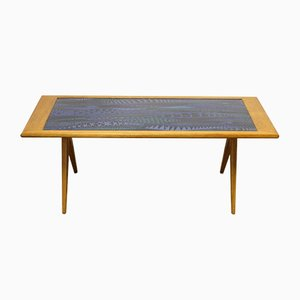 Table Basse par Stig Lindberg & David Rosén pour Gustavsberg, 1953
