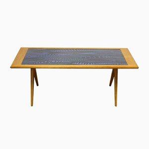 Tavolino da caffè di Stig Lindberg e David Rosén per Gustavsberg, 1953
