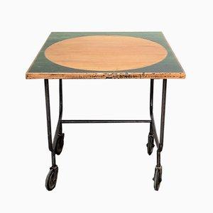 Table d'Appoint Industrielle Vintage