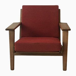 Vintage GE290 Sessel von Hans J. Wegner für Getama