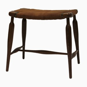 Number 967 Mahogany Stool by Josef Frank Model for Svenskt Tenn, 1940s