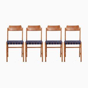 Polnische Modell 200-185 Stühle von Irena Zmudzinska, 1960er, 4er Set
