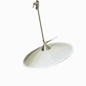 Portofino Wall Lamp #5 in Row Natural Linen by Servomuto