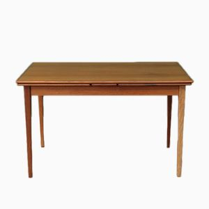 Mid-Century Teak Extendable Dining Table