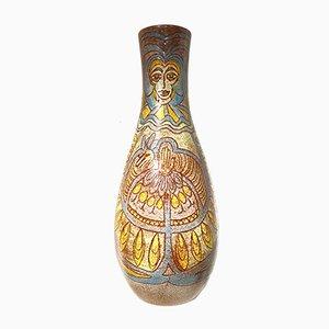 Große Vintage Vase von Accolay