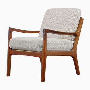 Mid-Century Danish Teak Armchair by Ole Wanscher for France & Søn