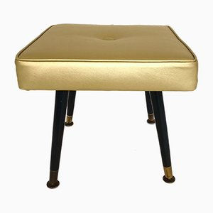 Vintage Gold Stool