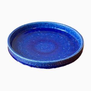 Cuenco de cerámica de Per Linnemans Schmidt para Palshus, años 60