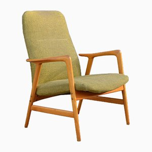 Kontur Lowback Lounge Chair by Alf Svensson for Ljungs Industrier, 1960s