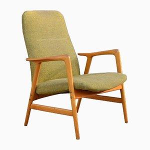 Poltrona Kontur con schienale basso di Alf Svensson per Ljungs Industrier, anni '60
