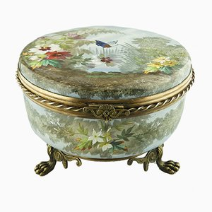 Antique French Jewellery Box by G. Lemossnier for Limoges
