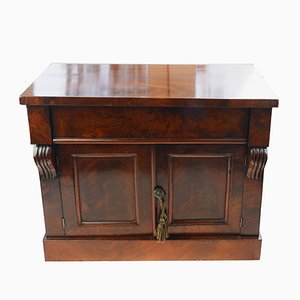 Small Antique Mahogany Cabinet