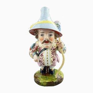 Antique Porcelain House Dwarf from Samson