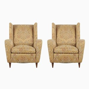 Lounge Chairs by Melchiorre Bega, 1950s, Set of 2