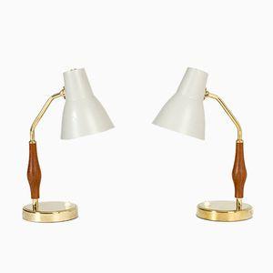 Lampes de Bureau par Hans Bergström pour ASEA, 1950s, Set de 2