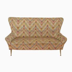 Sofa von Fédé Cheti für Isa Bergamo, 1950er
