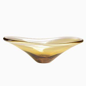 Centrotavola vintage in vetro di Murano