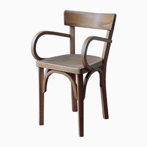 Mid-Century French Bentwood Children's Chair from Baumann
