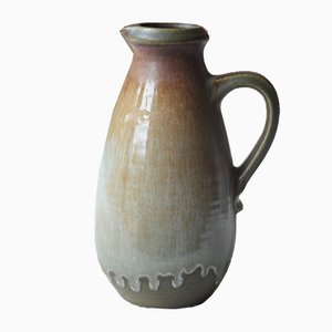 West German Pottery Vase from Scheurich, 1970s
