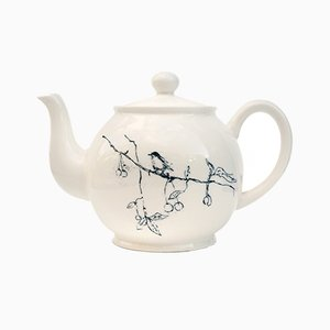 Foundlings and Fledglings Teapot by Tracey Emin for Counter Editions, 2007