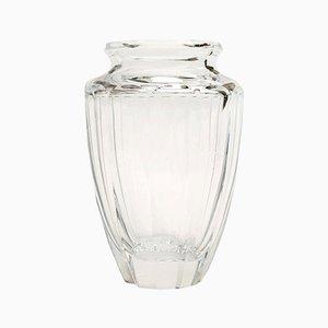 Vaso in cristallo di Daum, anni '60