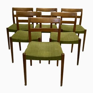 Vintage Swedish Chairs by Nils Jonsson for Troeds Bjarnum, Set of 6