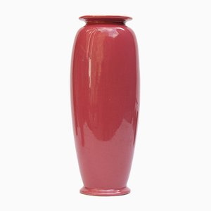 Roséfarben glasierte Vasen von Christopher Dresser für Ault Pottery, 1890er, 2er Set