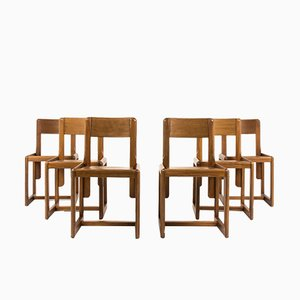 Stühle von Andre Sornay, 1960er, 6er Set