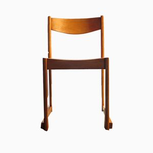 Vintage Beech Chair by Sven Markelius for Bodafors