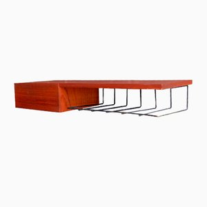 Teak Wall Unit with Drawer, 1960s