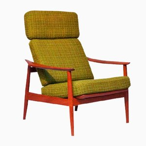Teak Lounge Chair by Arne Vodder for France & Søn, 1960s