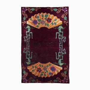 Tapis Art Deco Antique, Chine, 1920s
