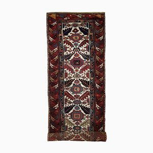 Tapis Runner Nothwest Fait Main Antique, 1840s